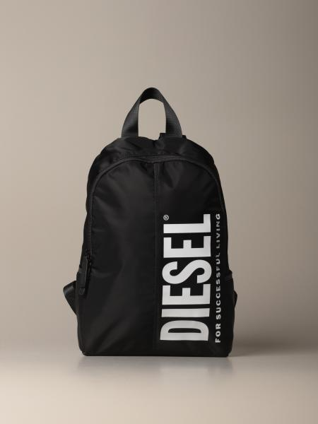 Diesel backpack in nylon with logo