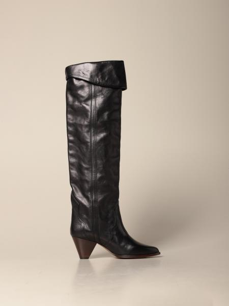 Isabel Marant: Isabel Marant knee boot in leather