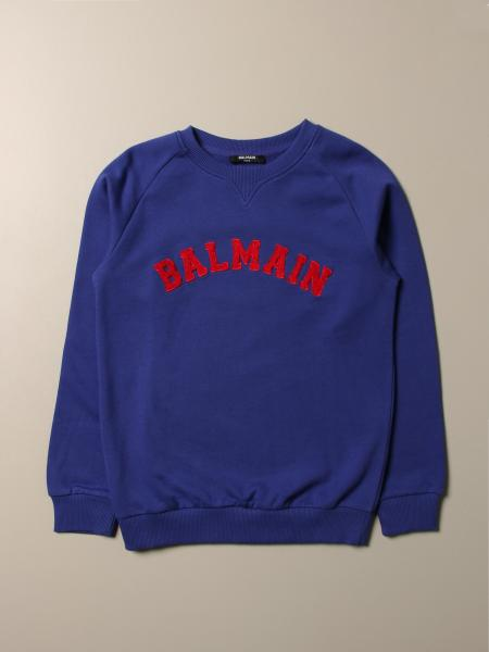 Balmain: Balmain sweatshirt with logo