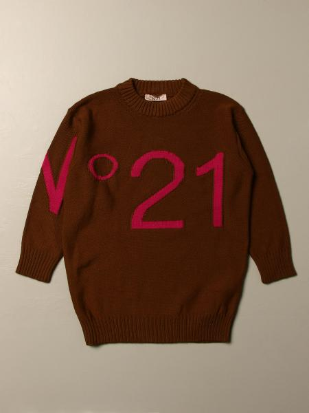 N ° 21 pullover with big logo