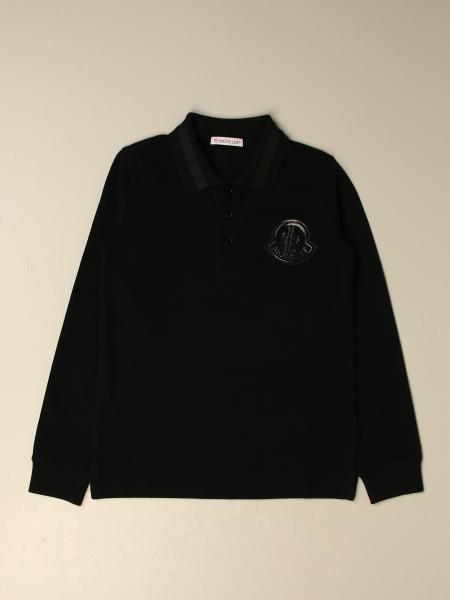 Moncler: Moncler polo with logo