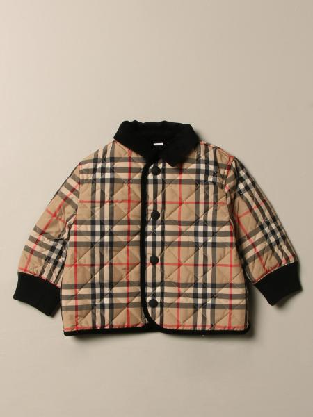 Burberry quilted jacket with vintage check motif