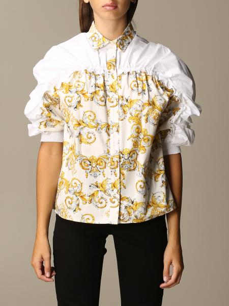 Versace Jeans Couture shirt in baroque patterned cotton