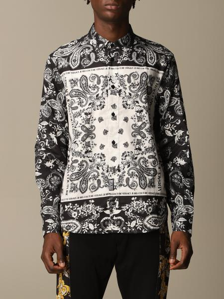 Versace Jeans Couture shirt in paisley patterned cotton