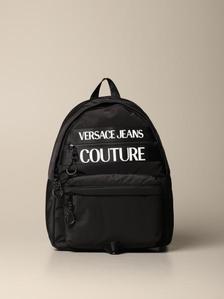 Versace Jeans Couture nylon backpack with logo