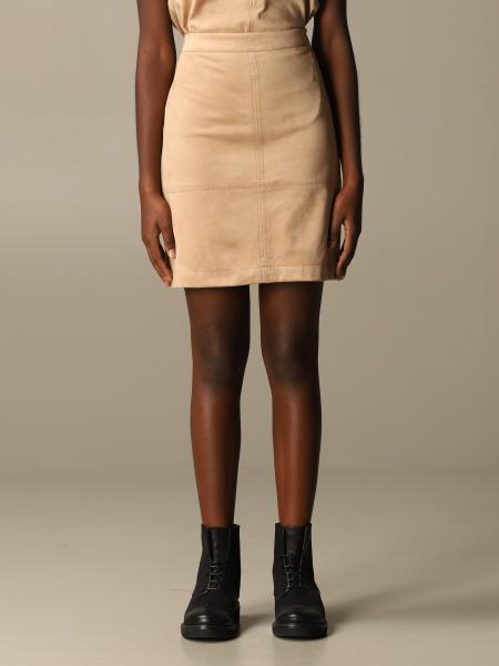 D.exterior: D.exterior basic short skirt