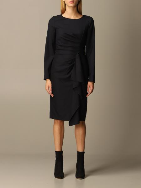 Max Mara dress with rouches