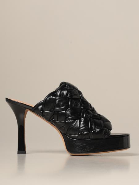 Bottega Veneta: Sandales à talons femme Bottega Veneta