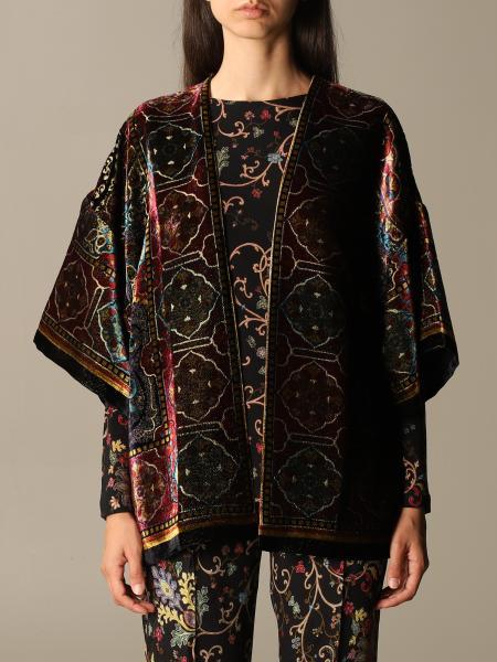Etro cardigan with ethnic pattern