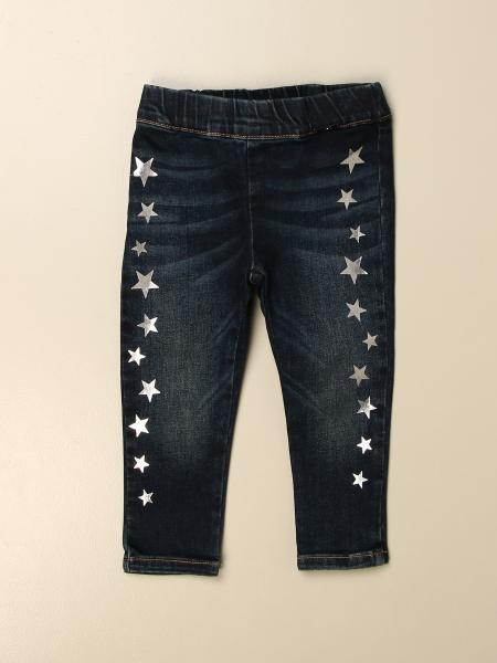 Liu Jo jeans in used denim with laminated stars