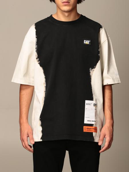 Heron Preston: T-shirt Heron Preston in cotone con multi stampe