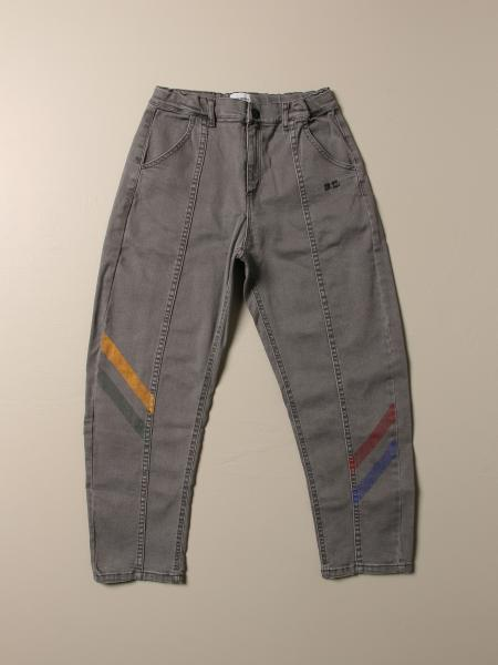 Jeans Bobo Choses con bande colorate