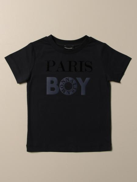 Monnalisa T-shirt with Paris Boy logo
