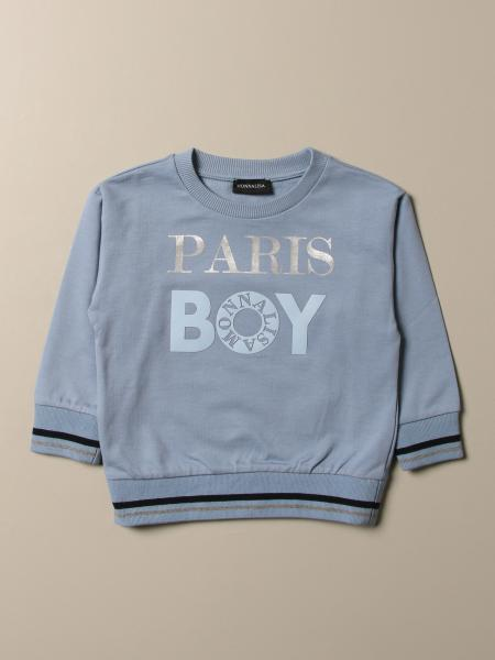 Monnalisa sweatshirt with Paris Boy logo
