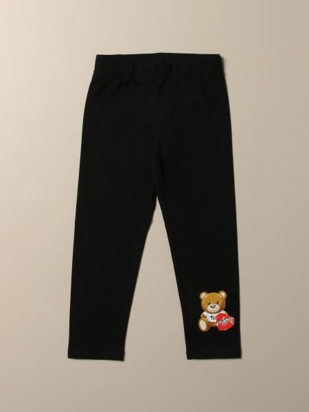 Leggings Moschino Kid con teddy cuore