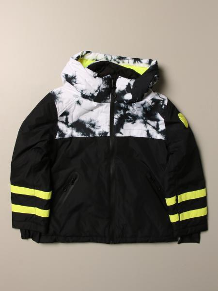 Diesel jacket in cotton with tie-dye print