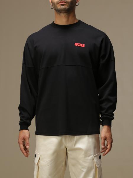Gcds men: GCDS cotton sweater with logo