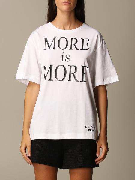 Boutique Moschino: T-shirt More is more Boutique Moschino