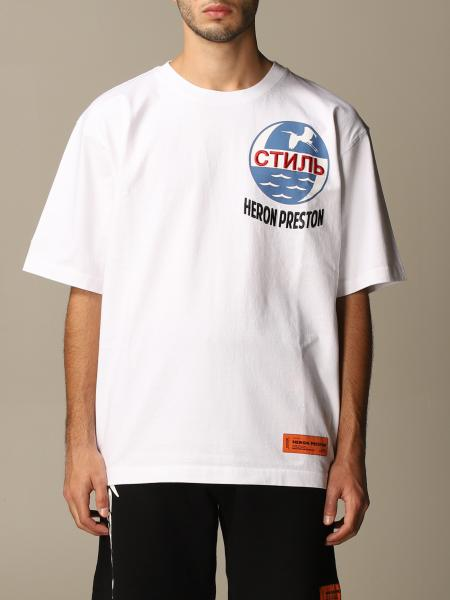 Heron Preston: T-shirt Heron Preston in cotone con logo