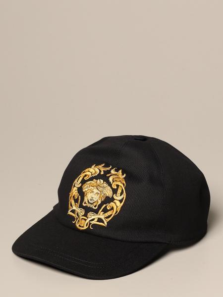 Versace baseball cap with lurex Medusa head