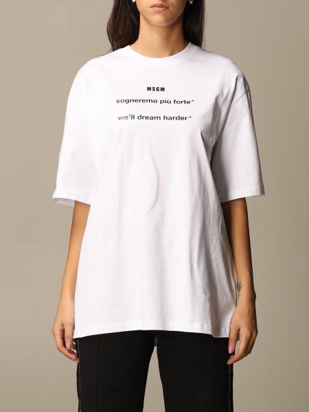 Camiseta mujer Msgm