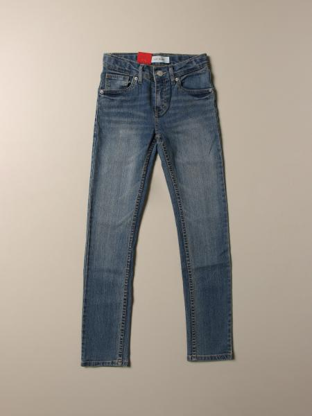 Jeans 510 skinny Levi's in denim used stretch