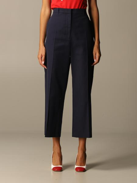 Kenzo: Kenzo trousers in cotton and linen