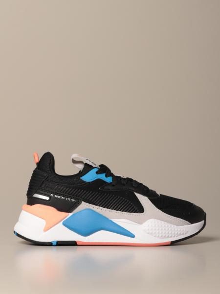 Sneakers RS-X Monday Jr Puma in rete e tessuto