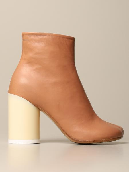 Maison Margiela: Flat booties women Mm6 Maison Margiela