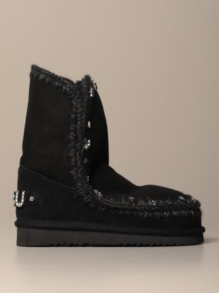 Stivaletto Eskimo Sneakers Mou con stelle