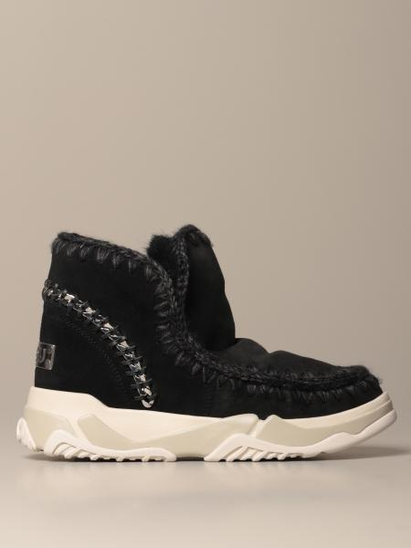 Stivaletto Eskimo Sneakers Mou in montone