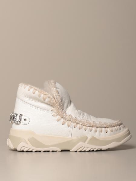 Stivaletto Eskimo Sneakers Mou in pelle