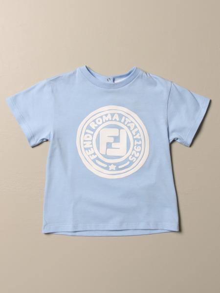 Basic Fendi T-shirt with logo