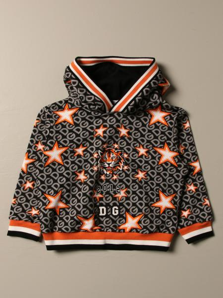 Dolce & Gabbana sweatshirt with tiger and stars