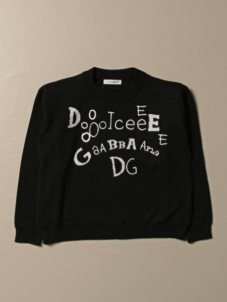 Maglia Dolce & Gabbana con logo lettering