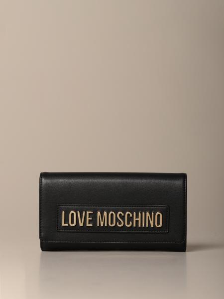 Love Moschino wallet in synthetic leather