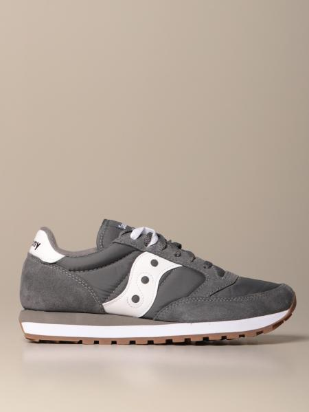 Saucony sneakers in suede and nylon