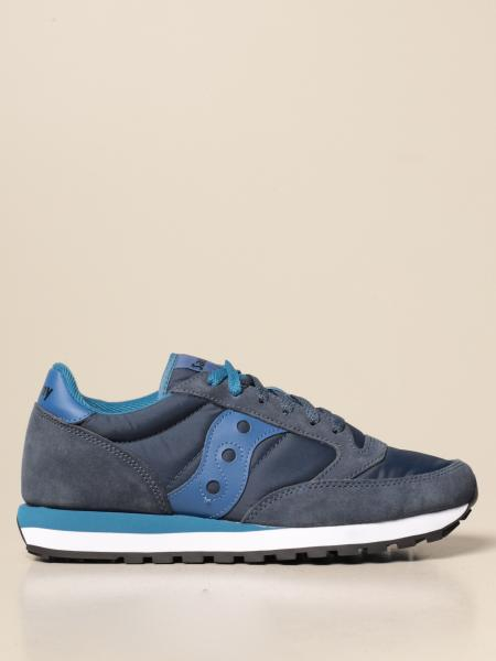 Saucony: Saucony sneakers in suede and nylon