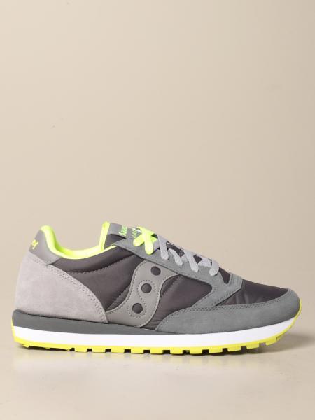 Saucony: Sneakers Saucony in camoscio e nylon