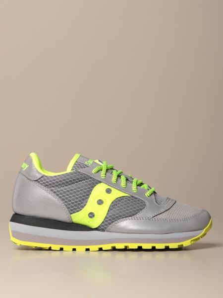 Saucony: Jazz Triple Saucony sneakers in synthetic leather and mesh