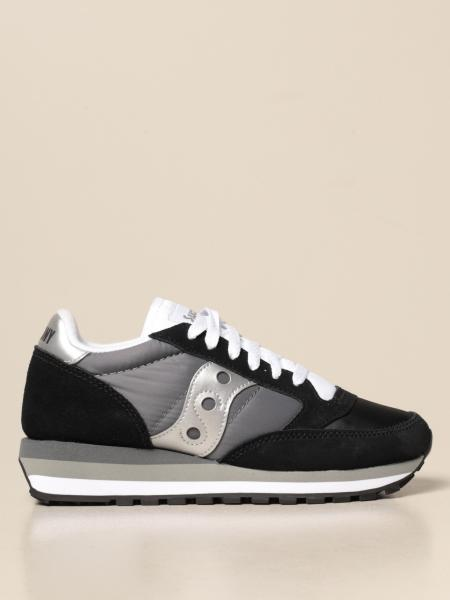 Sneakers Jazz Triple Saucony in pelle sintetica e nylon