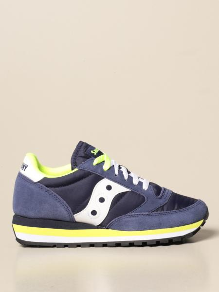 Jazz Triple Saucony sneakers in synthetic leather and nylon