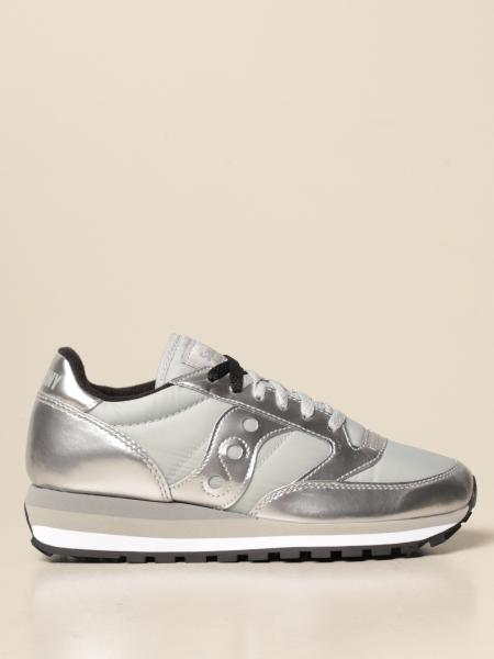 Saucony: Jazz Triple Saucony sneakers in synthetic leather and nylon