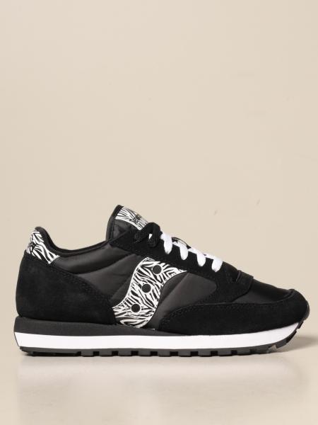 Saucony: Sneakers Jazz Saucony in camoscio e nylon