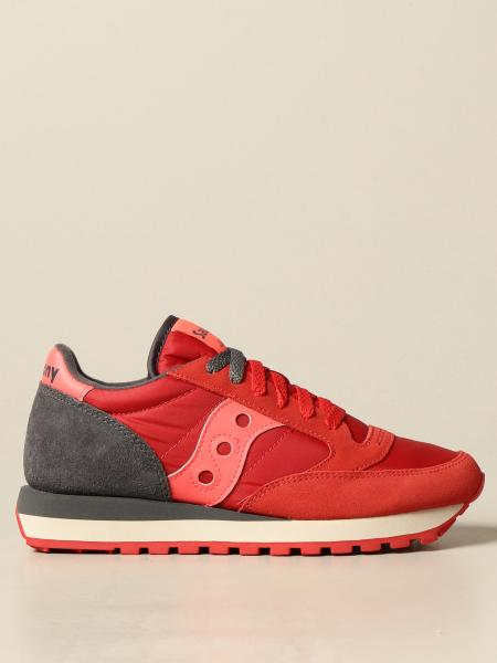 Saucony: Saucony Jazz sneakers in suede and nylon