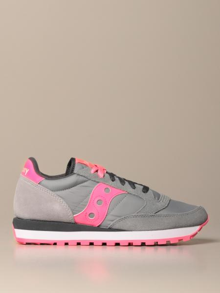 Sneakers Jazz Saucony in camoscio e nylon