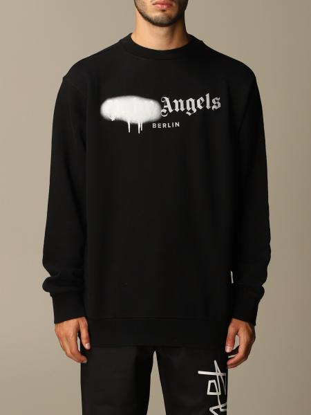 Palm Angels sweater in cotton with printed logo
