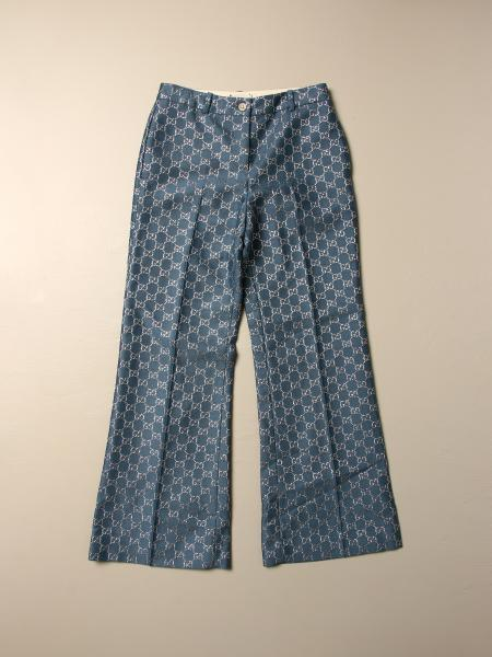 Gucci trousers with all-over GG Supreme pattern
