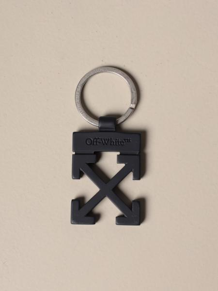 Off White keychain in the shape of arrows