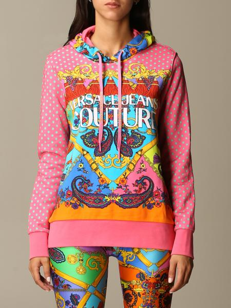 Versace Jeans Couture sweatshirt in fantasy paisley fabric